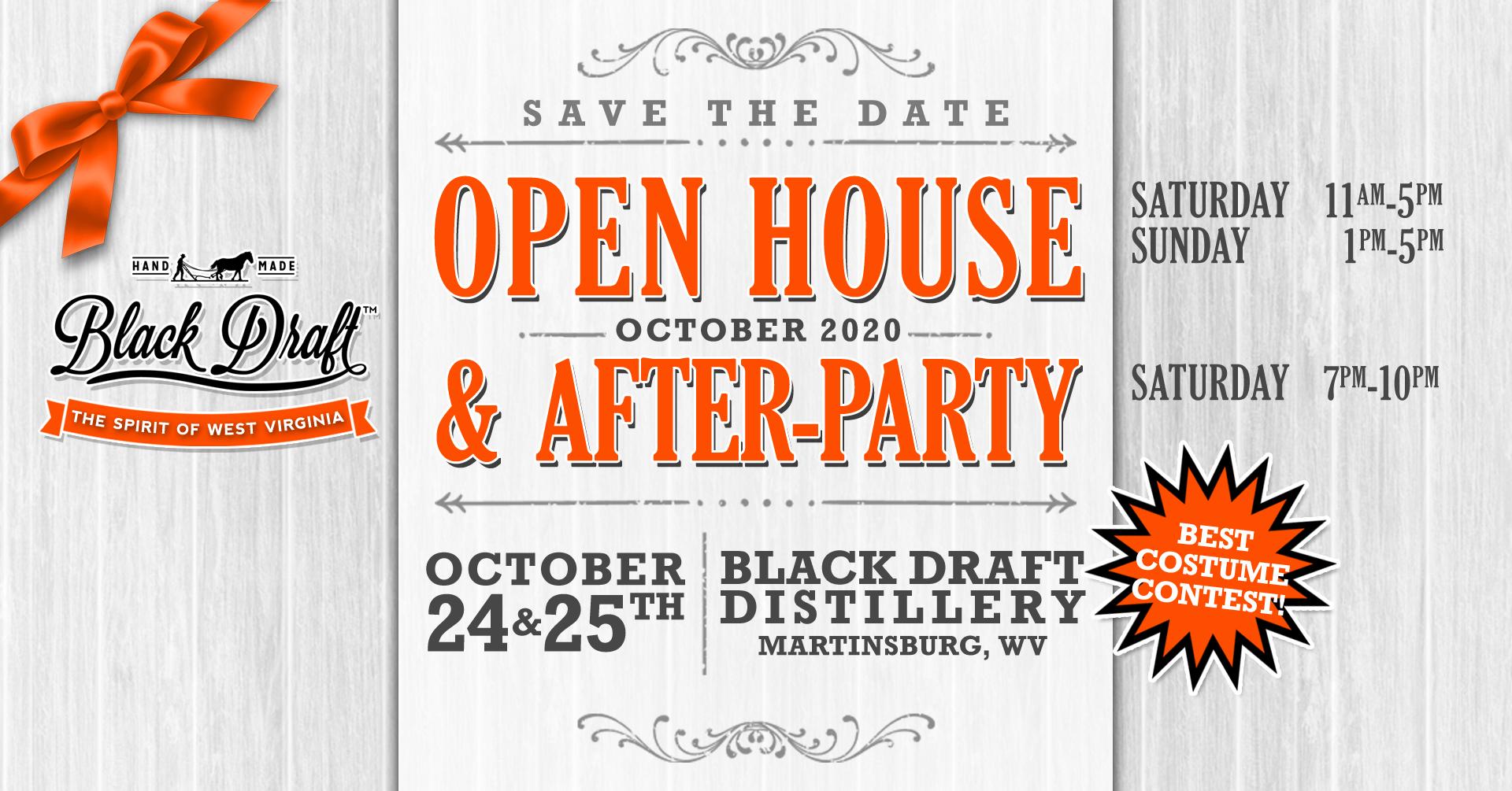 Black Draft Distillery's Autumn Open House