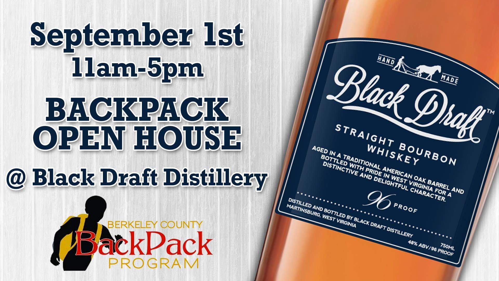 Open House at Black Draft Distillery
