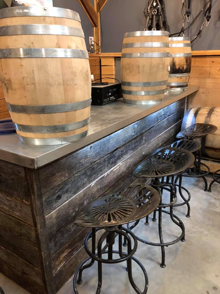 New Tasting Bar at Black Draft Distillery