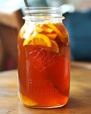 Bourbon Sweet Tea, made with Black Draft Straight Bourbon