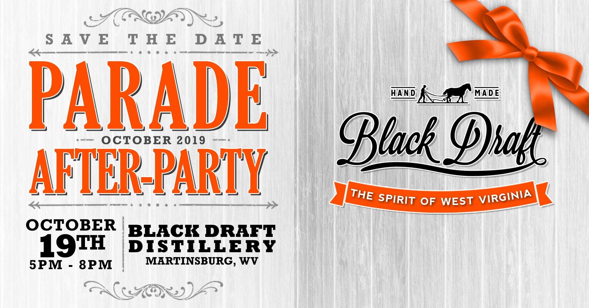 Black Draft Distillery's MSAHF Parade After-Party