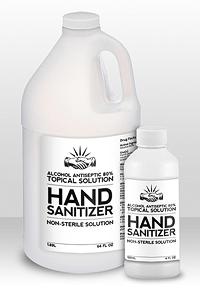 Black Draft Hand Sanitizer