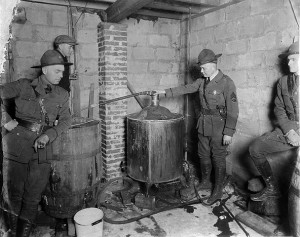 West Virginia moonshine still